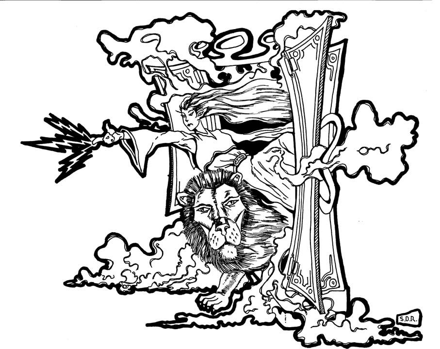 Narnia Coloring Pages Free Coloring Pages For KidsFree