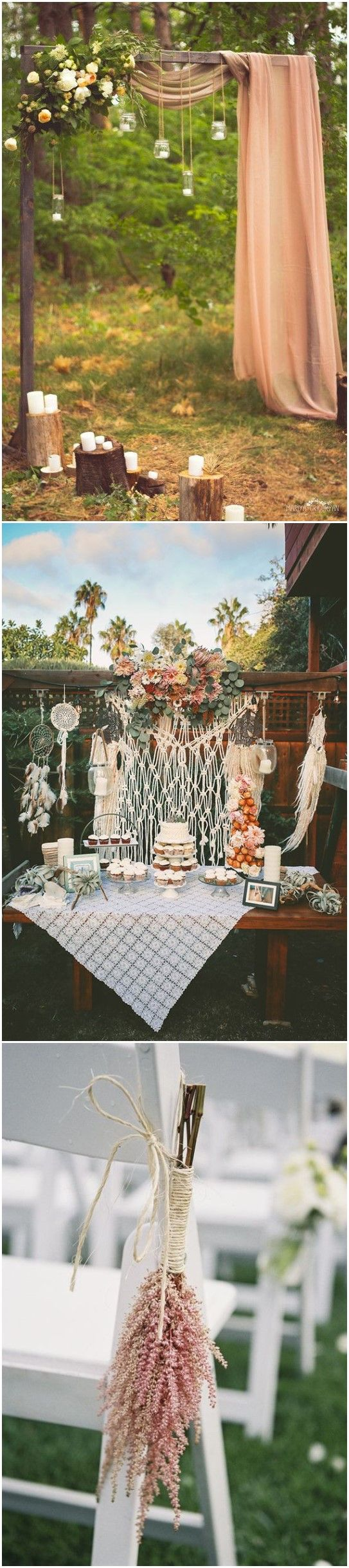 gorgeous boho wedding décor ideas on pinterest boho weddings