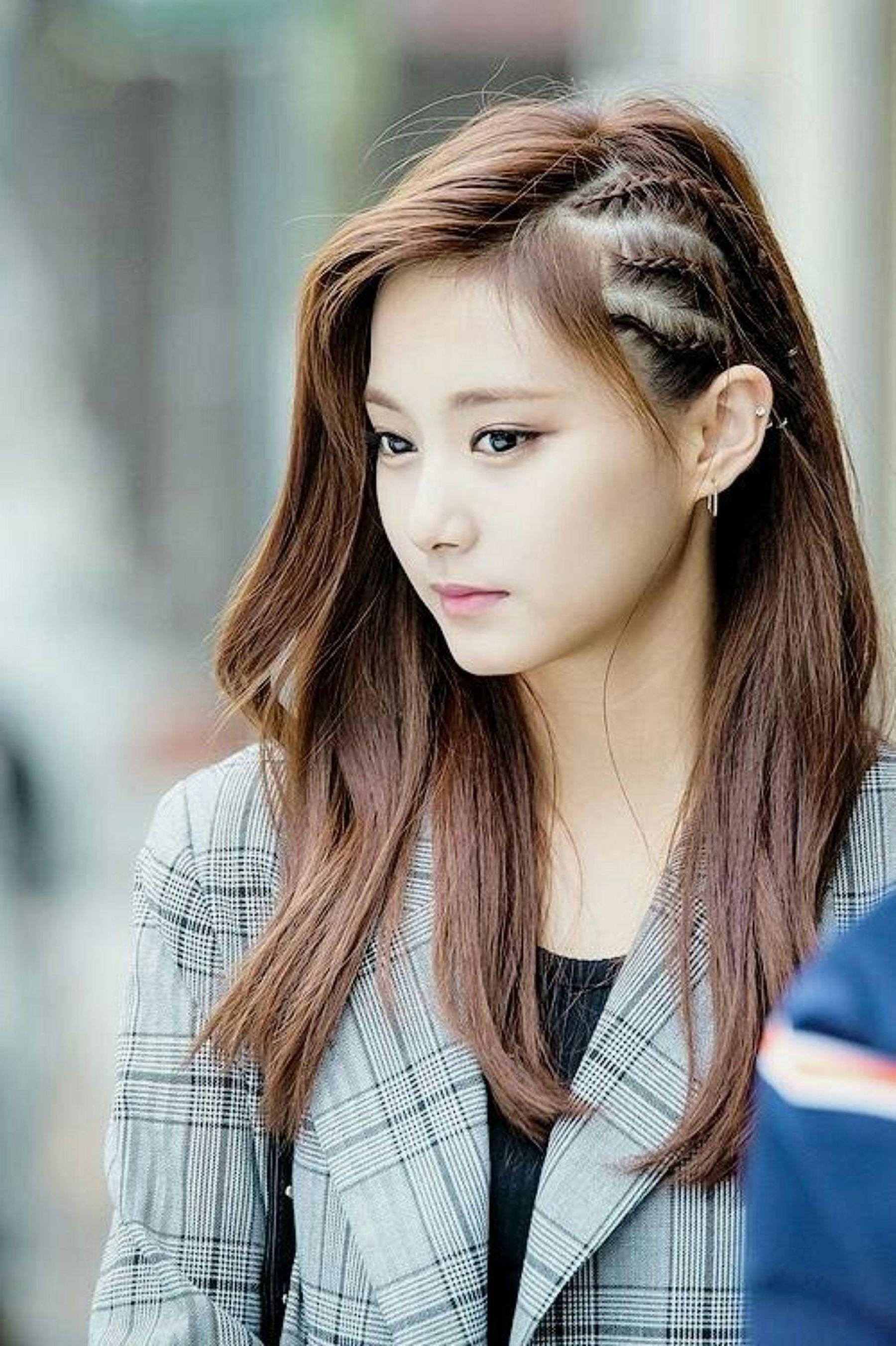 New Korean Beautiful Girl Hairstyle 2021 Hair Styles Kpop Hair Girl Hairstyles