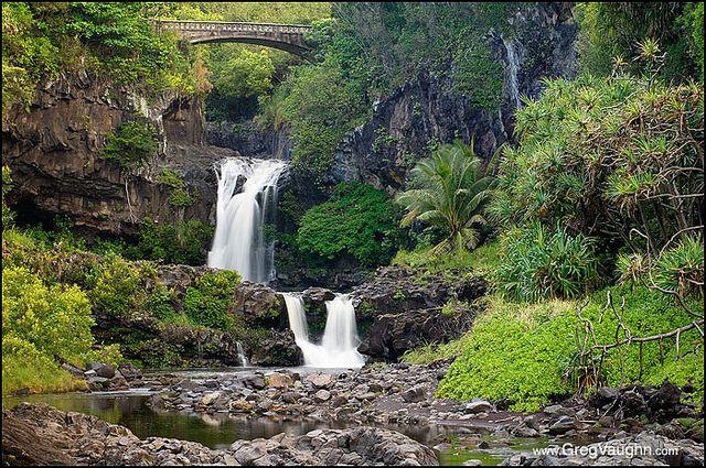 Oheo Gulch Maui Seven Sacred Pools Maui Haleakala National Park Waterfall