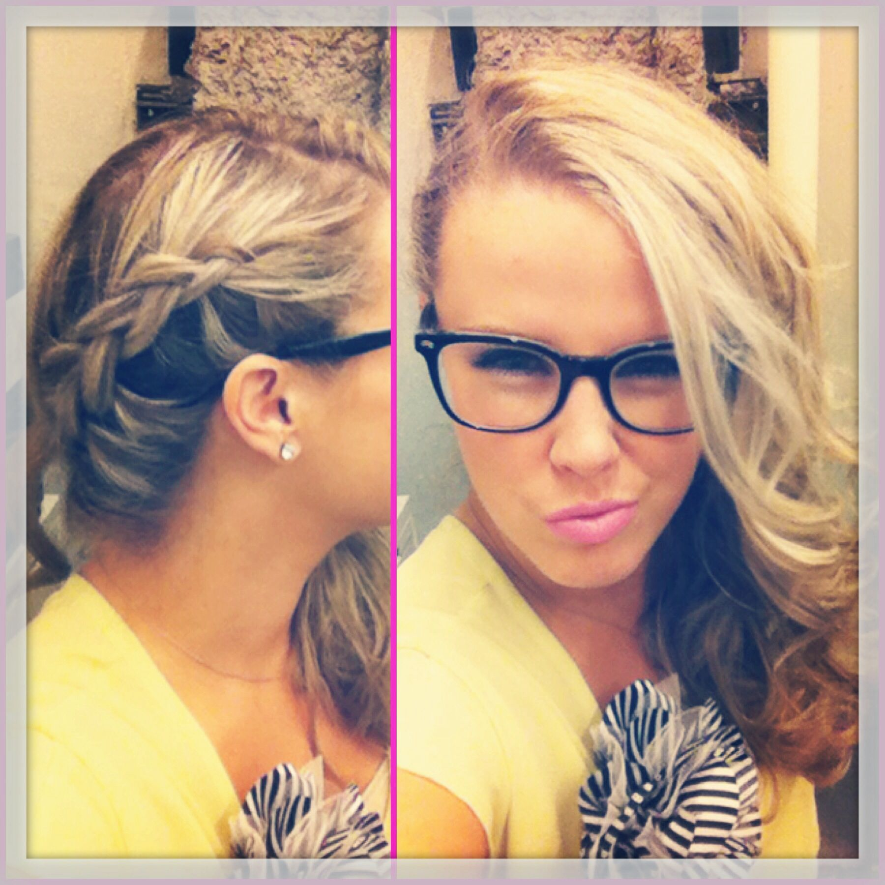 Faux side shave braid hair styles pinterest faux side shave