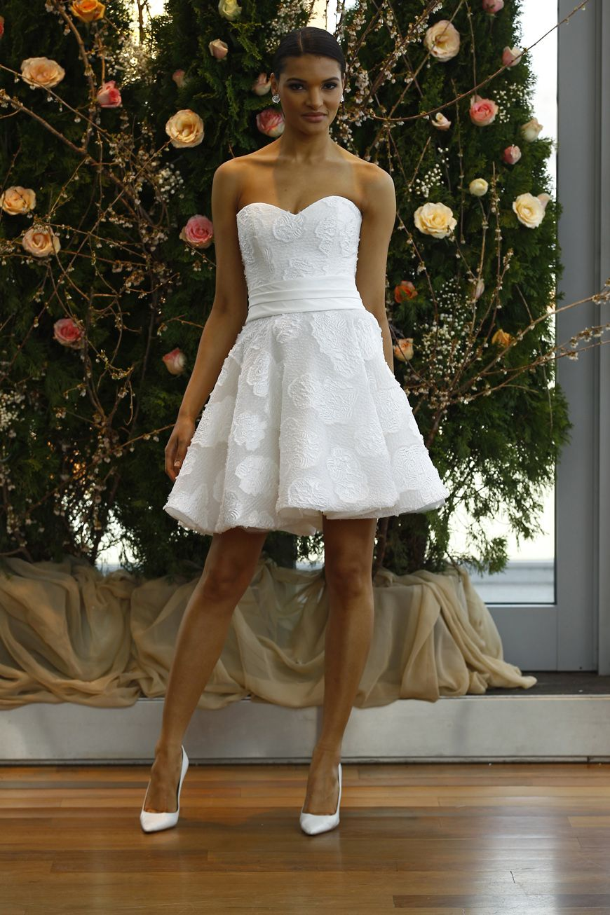 chic short wedding dresses for laidback brides short wedding