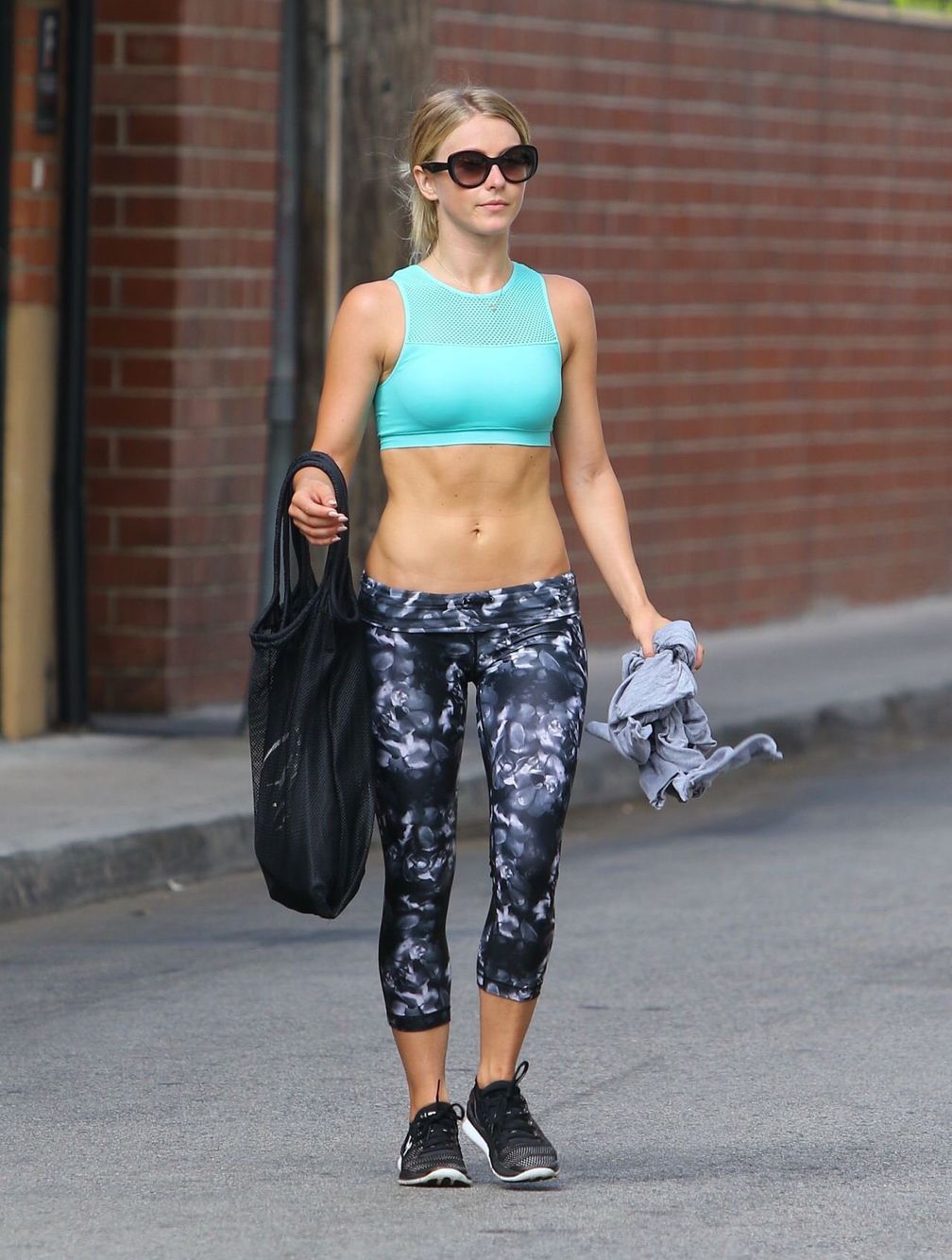 And again... Plus love the workout outfit