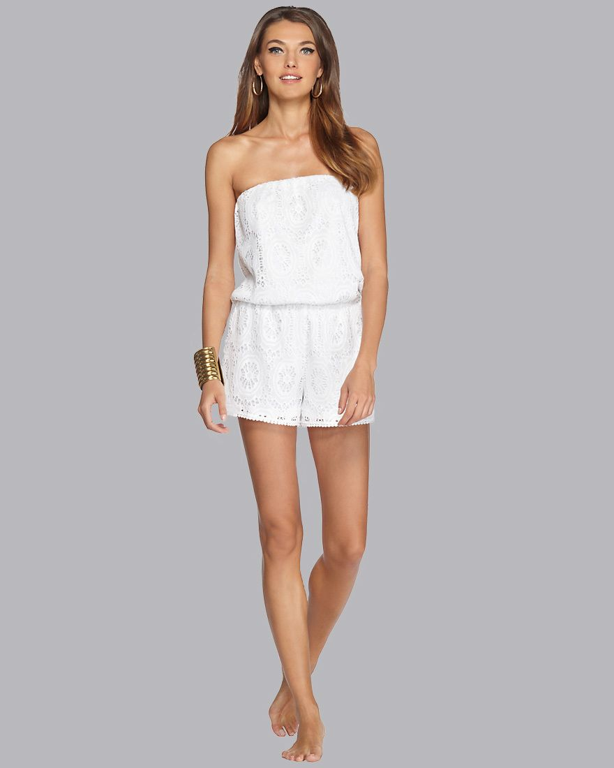 b8a8d8b682f You did it again Lilly! Nicole Strapless Romper- Lilly Pulitzer ...
