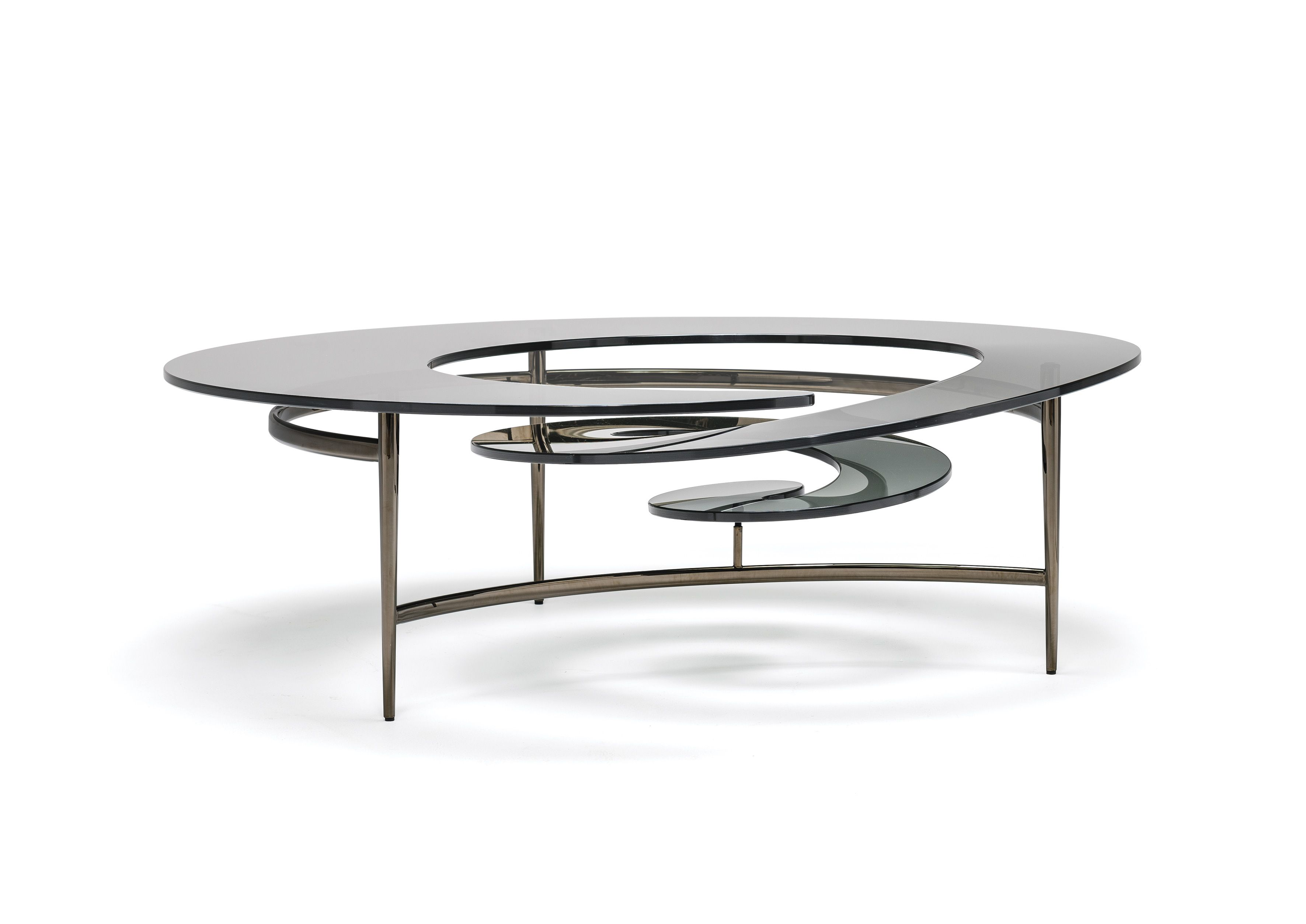 Spiral Coffee Table Cattelan Italia Coffee Table Glass Top Coffee Table Table [ 2507 x 3543 Pixel ]