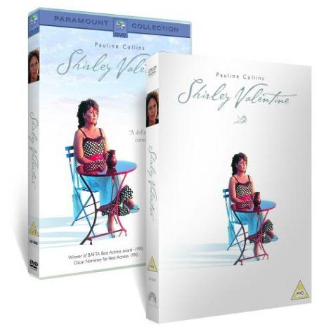 Shirley Valentine Dvd 1989 Dvd Http Www Amazon Co Uk Dp B0002xp0fk Ref Cm Sw R Pi Dp G74gub058fzd3 Shirley Valentine Pauline Collins Dvd
