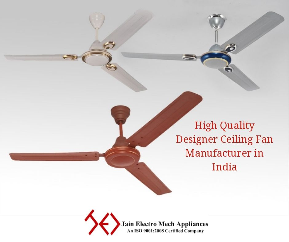 Best Designer Ceiling Fan Manufactures In Hyderabad India