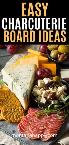 Easy Charcuterie Board Ideas | How to Make a Charcuterie Board | How to Build a …