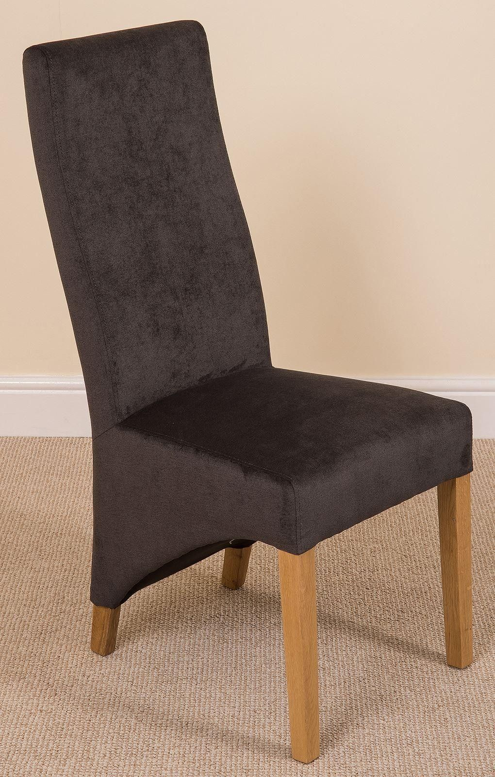 Curved Back Dining Room Chairs Cool Lola Curved Back Dining Chair Black Fabric Combined With The Decorating Design