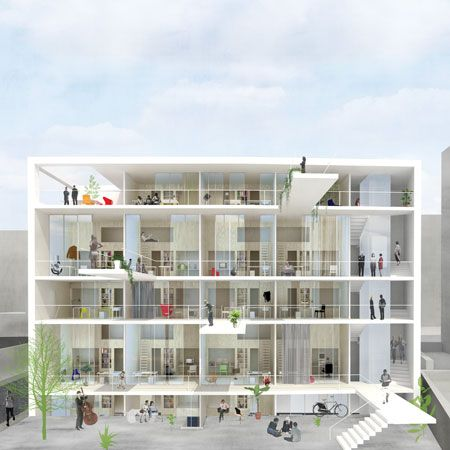 Dzn idenburg image 2 jaz pinterest athens greece for Apartment design competition