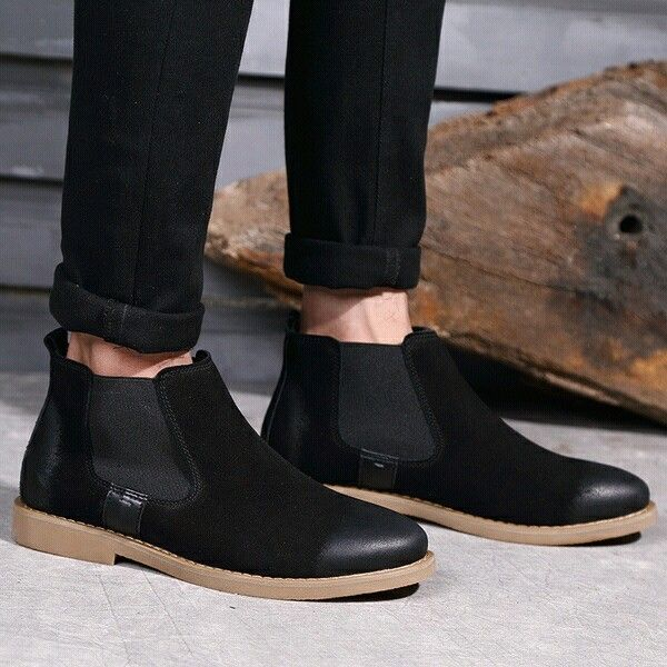 The Chelsea Boot Men Suede Martin Boots