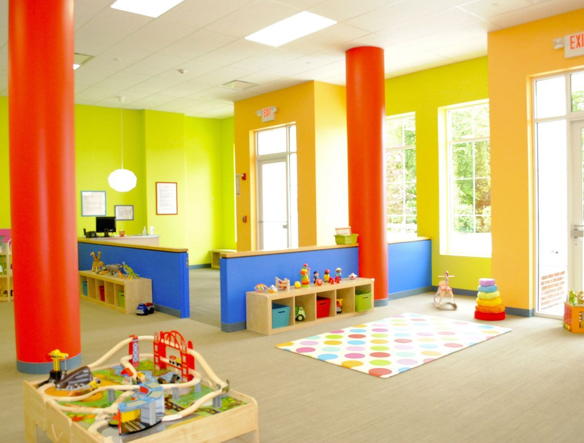 Best colors for daycare walls images