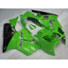 Kawasaki NINJA ZX12R 2000-2001 ABS Fairing - Others - Green/Black | $579.00