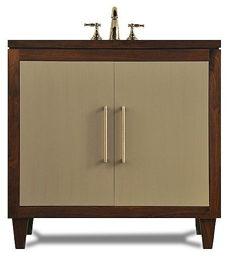 The Clark: A modern sink base cabinet by | Base cabinets ...
