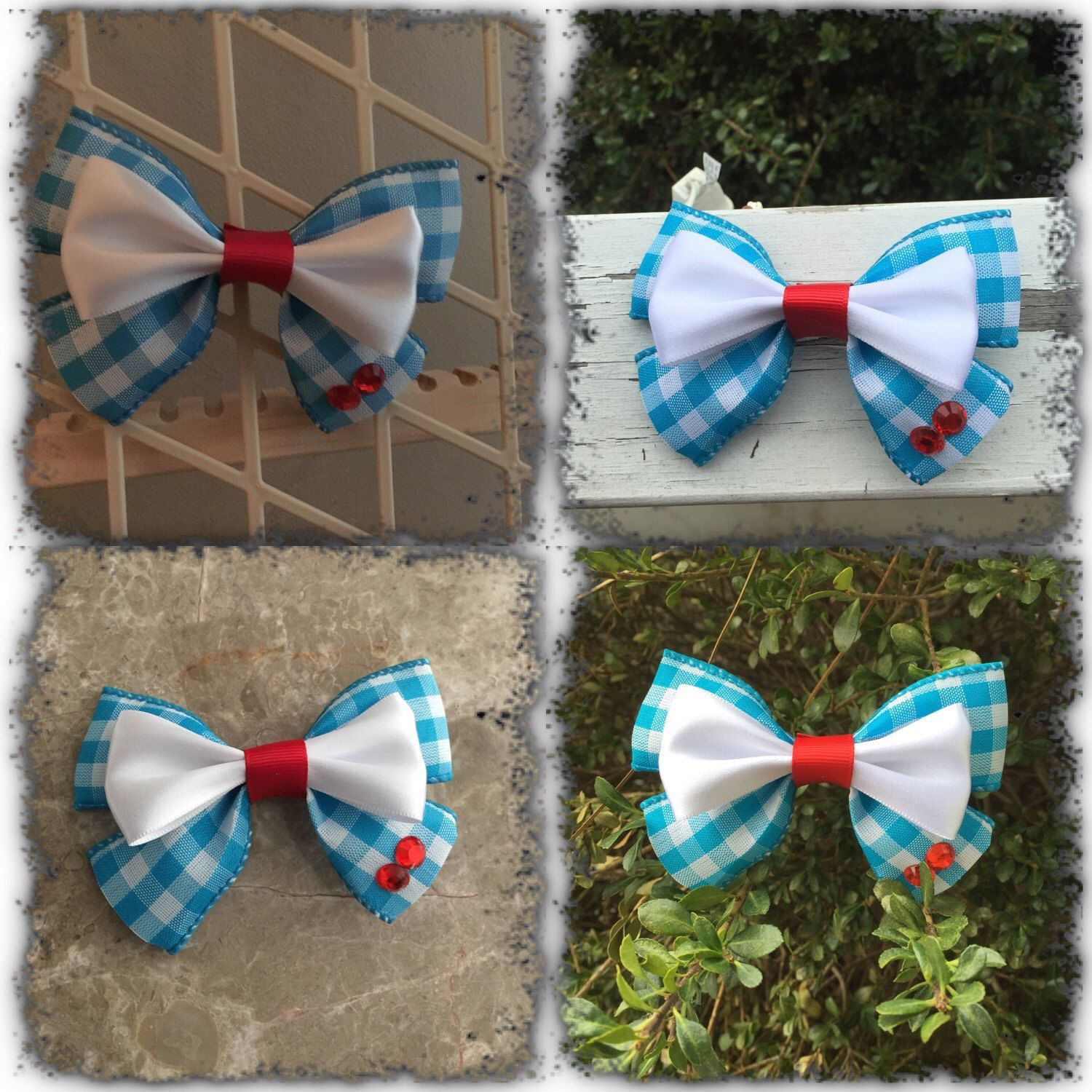 Hair Bow Inspired In The Wizard Of Oz Hair Bows Bows Disney Bows