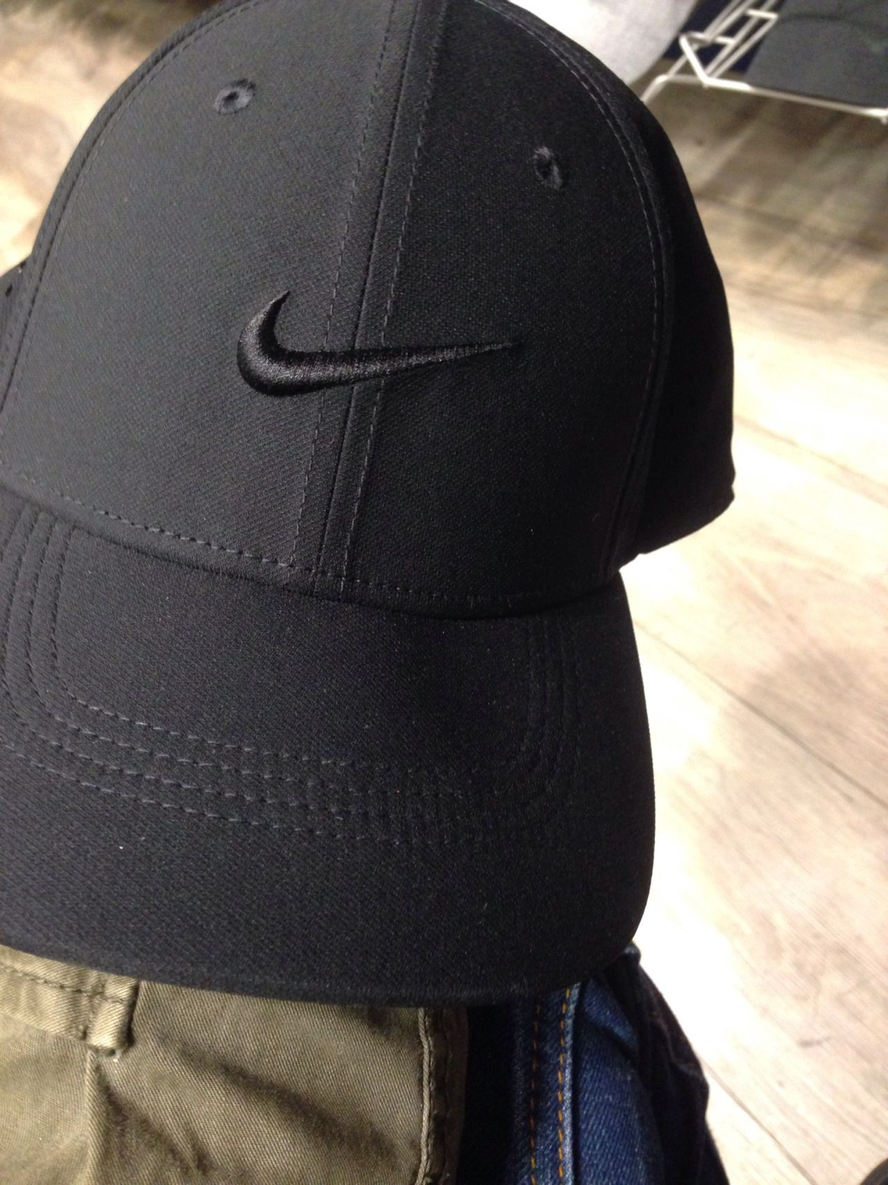 All black Nike hat