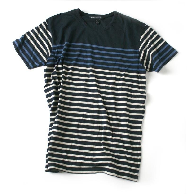 Marc by Marc Jacobs Stripe Tee http://shop.traitornewyork.com/marc-by-marc-jacobs-multi-stripe-t-shirt