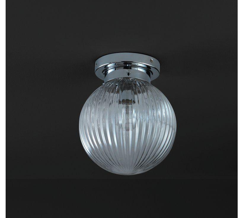 buy argos home kerridge ribbed glass bathroom ceiling light rh pinterest jp