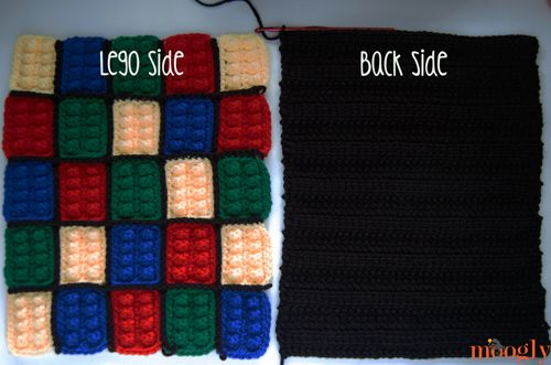Lego Inspired Crochet Backpack Free Pattern On Moogly Crafts