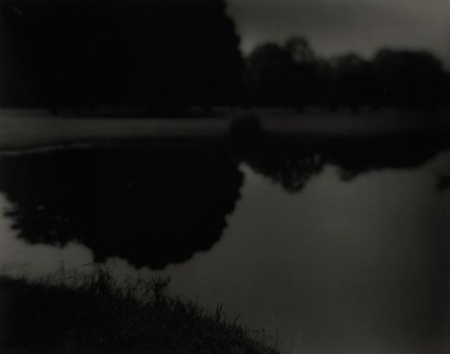 This is a photo by Sally Mann called 'Marienbad, 1998'. I just love the reflection of the trees on the water. This photo just reminds me of different scenes in movies.
