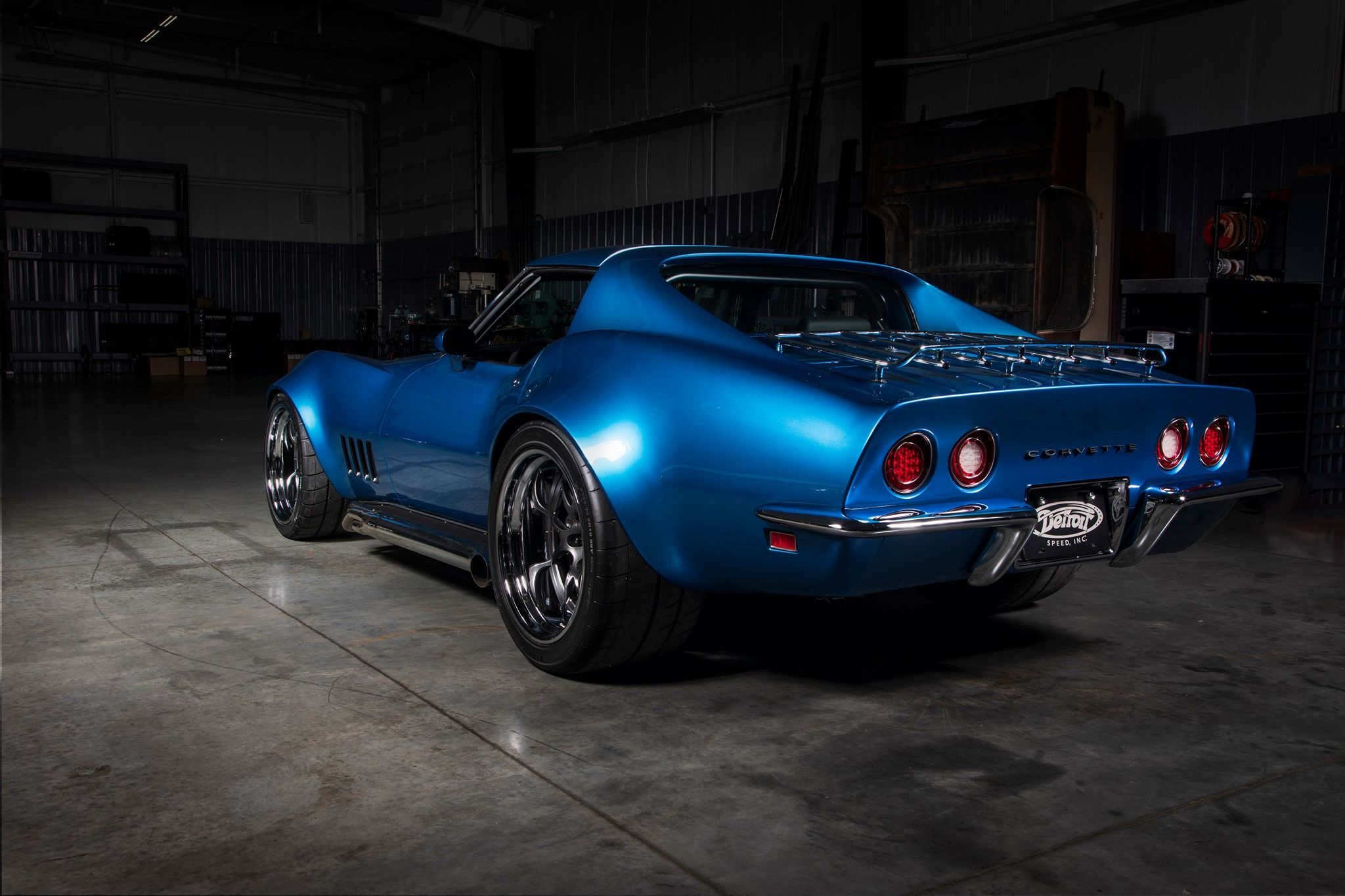Bob Gawlik's Detroit Speed '69 Corvette on Forgeline GA3R Wheels