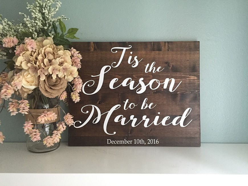 The Perfect Christmas Wedding Theme CHWV Wedding ideas Pinterest