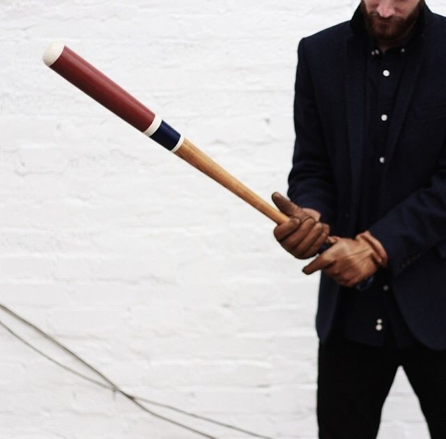US COLLECTIVE | painted wooden bat