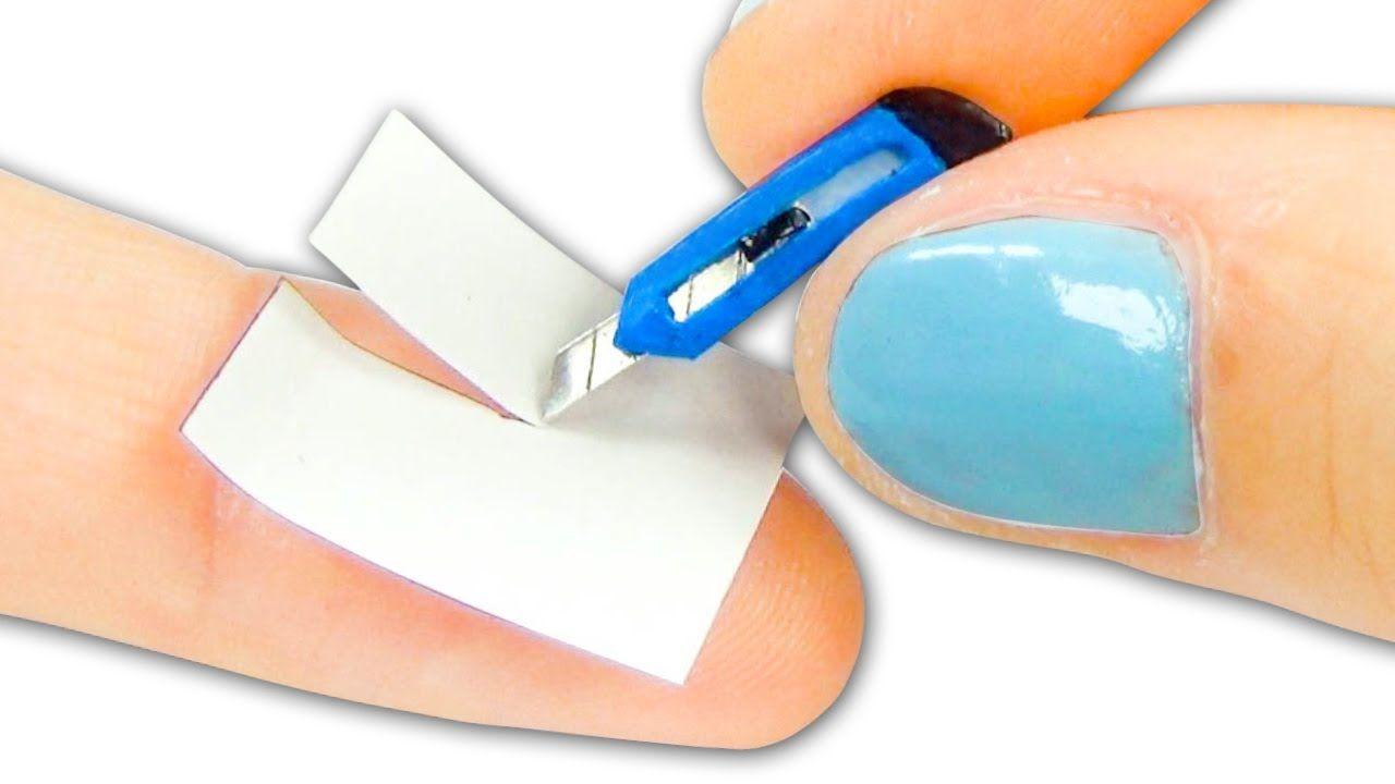 Miniatura de cúter o cuchillo cartonero - Tutorial - YolandaMeow♡