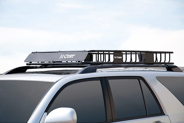 Nice Curt Roof Mounted Cargo Rack   Best Price On Curt Cargo Basket U0026 Rooftop  Cargo Carrier