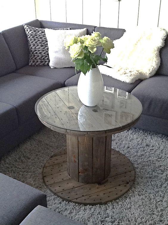eine holzhaspel kann man oft gratis abholen 11 tolle haspelideen seite 2 von 11 diy. Black Bedroom Furniture Sets. Home Design Ideas