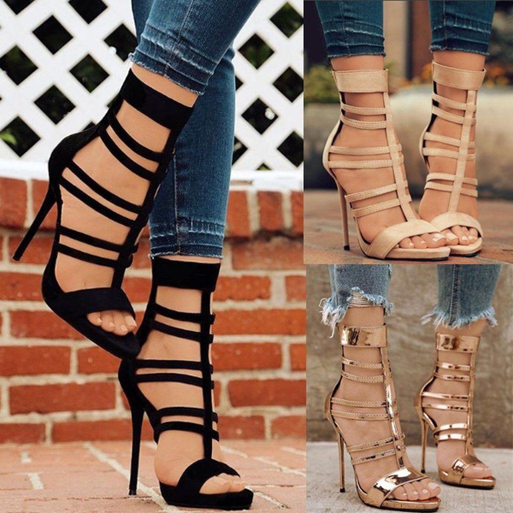 74684b459a2 Women s Sandals High Heel Sandals For Women High Heel Shoes
