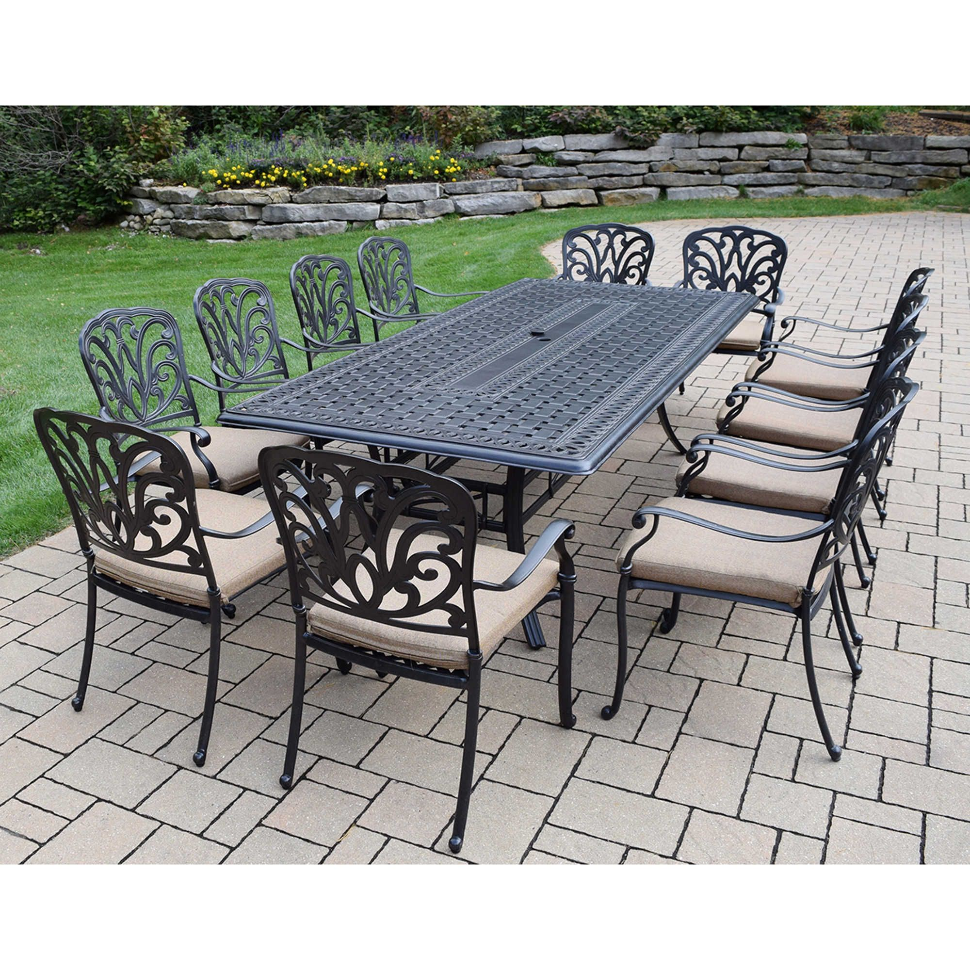 Oakland Living Clairmont 13-Piece Outdoor Dining Set ... on Oakland Living Patio Sets id=73105