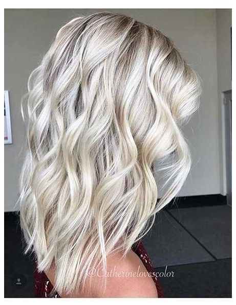 22 Blonde Medium Length Hairstyle Easyhairstylesforwavyhair Click The Image Now For More In Medium Length Hair Styles Hair Lengths Medium Length Blonde Hair