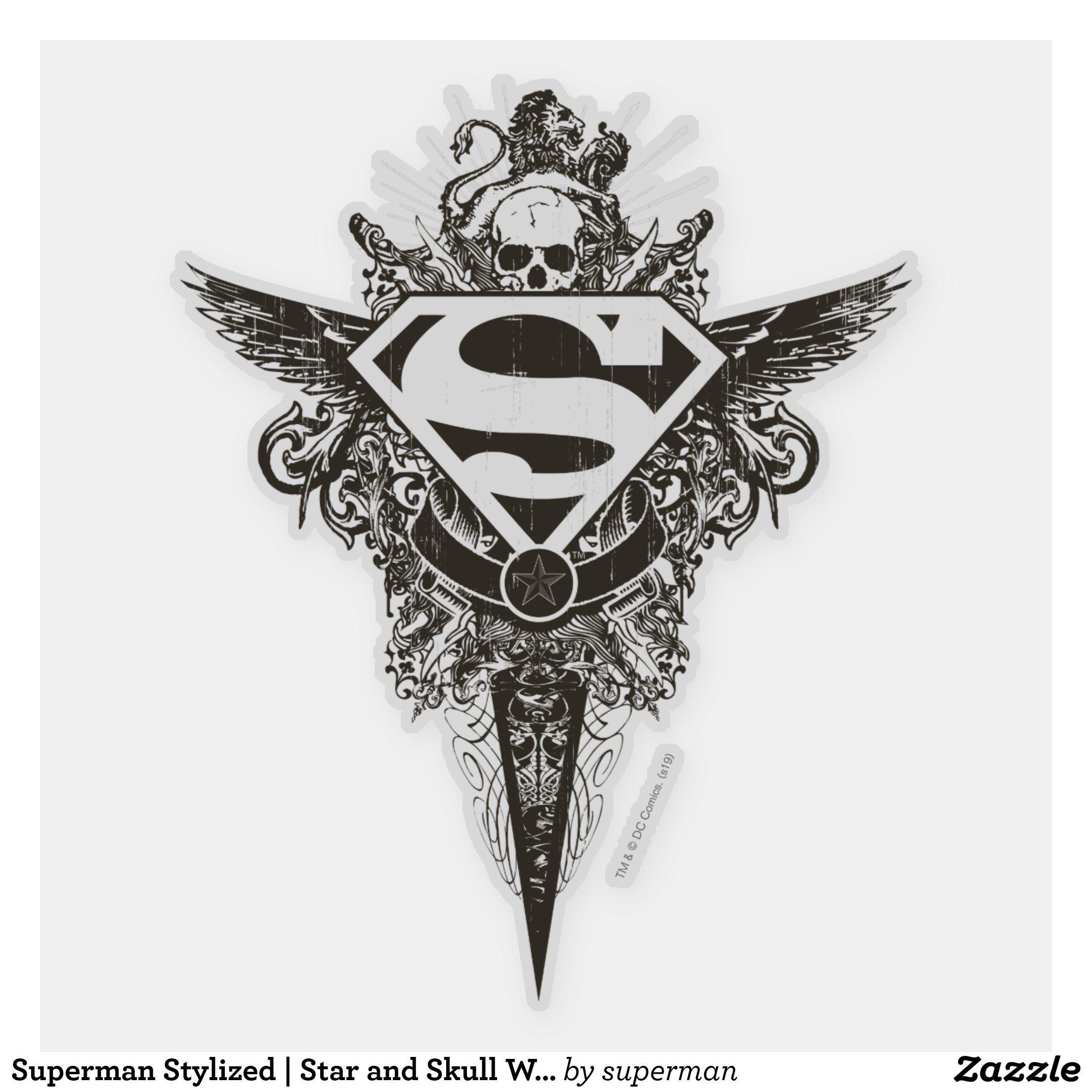 Pin On Superman Tattoos