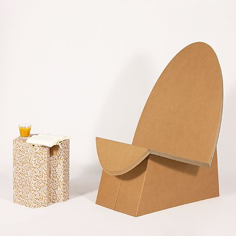 Cardboard chair sessel stange design 4 the home for Stange design