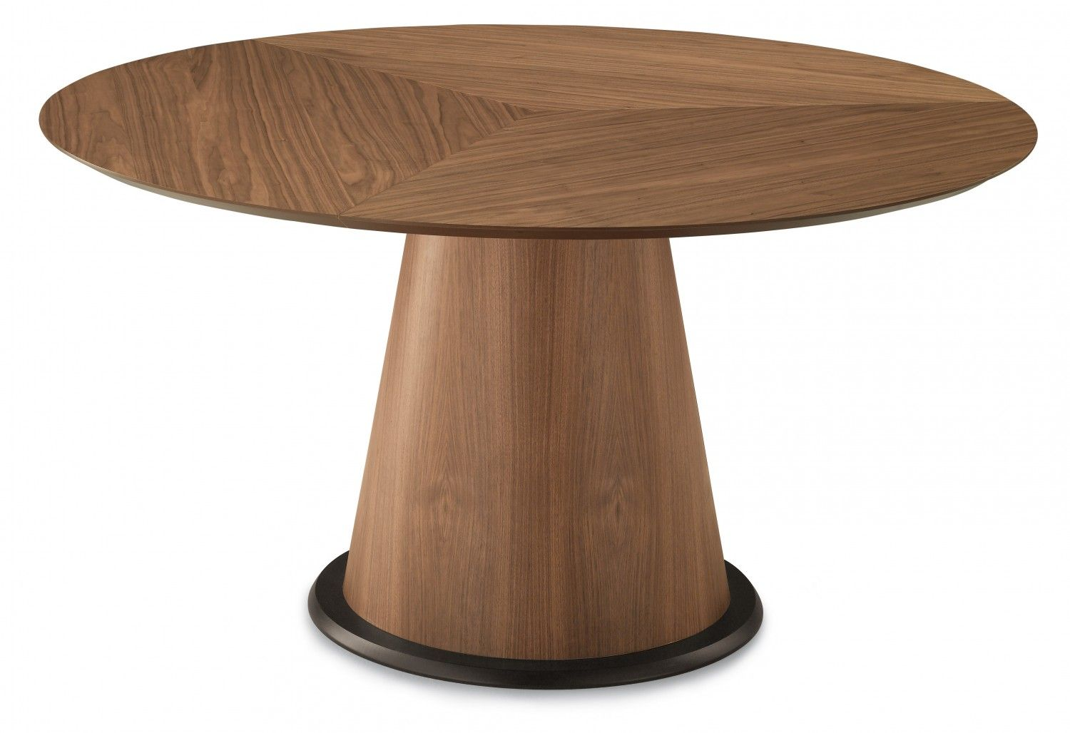 Domitalia Palio 152 Round Table In Walnut Dining Table Dining Table Sale Round Dining Table