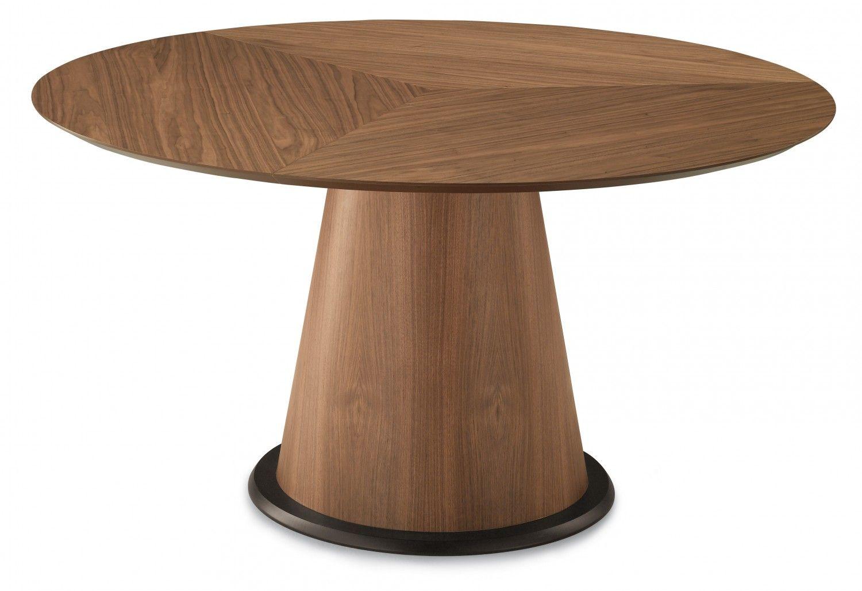 Domitalia Palio 152 Round Table In Walnut Dining Table Dining Table Sale Round Dining Table