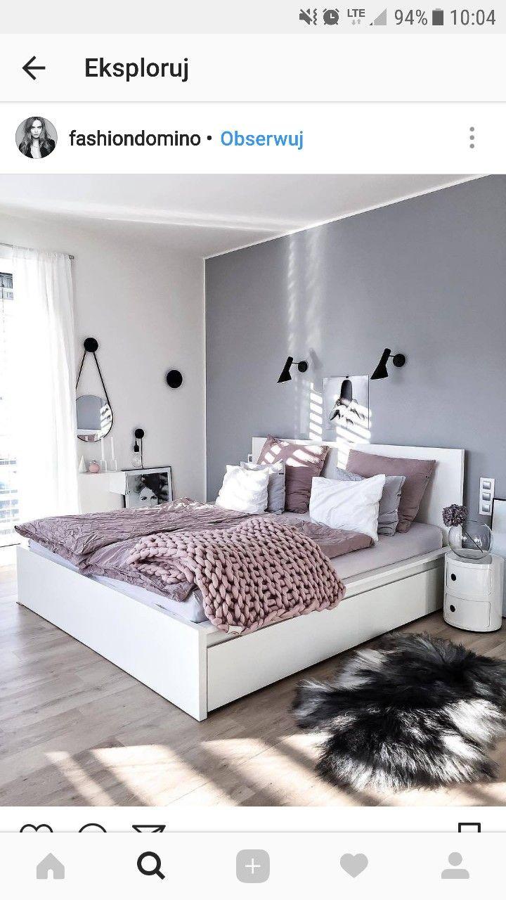 Pin von iwona kądzielawa auf inspiracje   Pinterest   Schlafzimmer ...