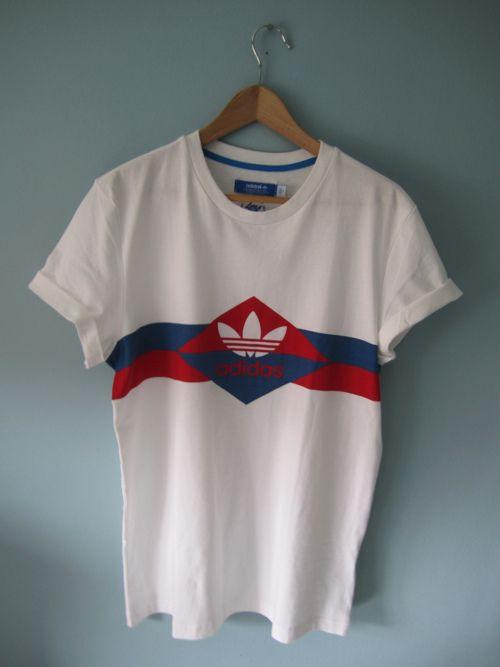 adidas shirt vintage