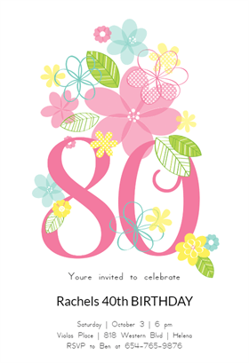 Image result for 80th birthday invitation templates free download image result for 80th birthday invitation templates free download filmwisefo Images