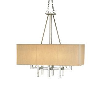 Currey and Company Eclipse Rectangular Chandelier