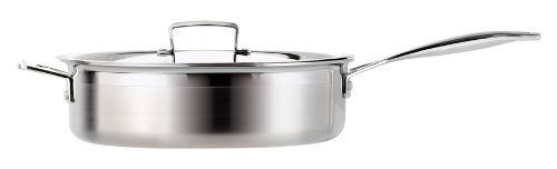 Le Creuset TriPly Stainless Steel 6Quart Covered Saute