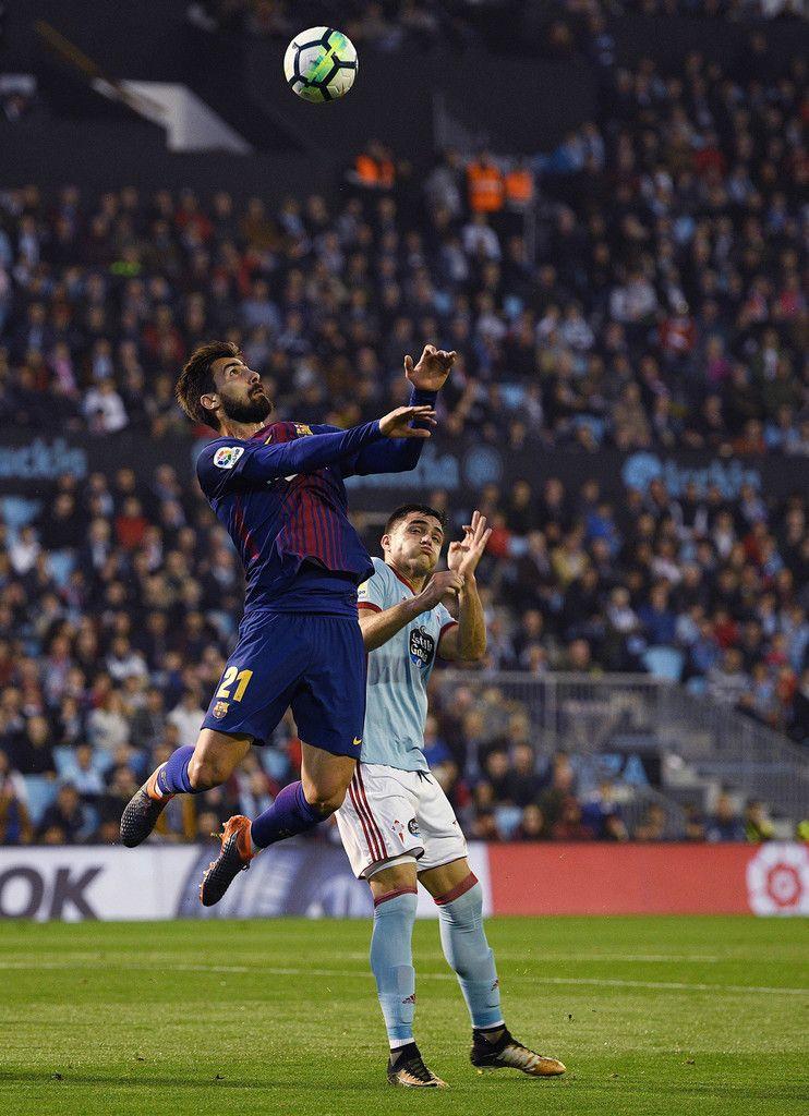 Andre Gomes Photos Photos Celta De Vigo Vs Barcelona La Liga Celta De Vigo La Liga Barcelona