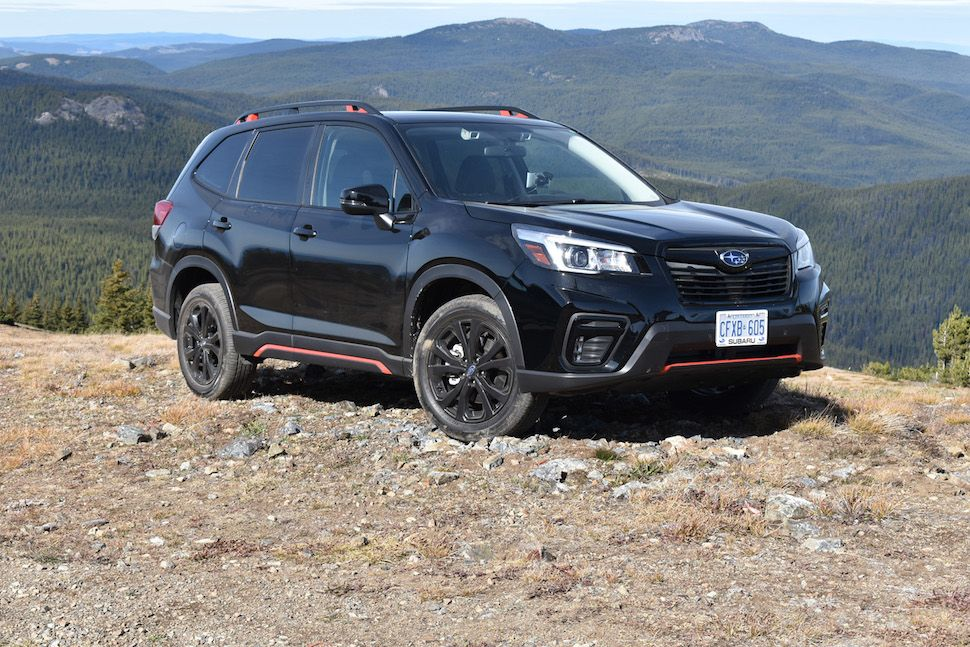 First Drive 2019 Subaru Forester Review Subaru forester