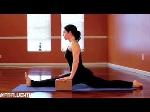 yoga monkey pose  monkey pose yoga funny yoga tutorial