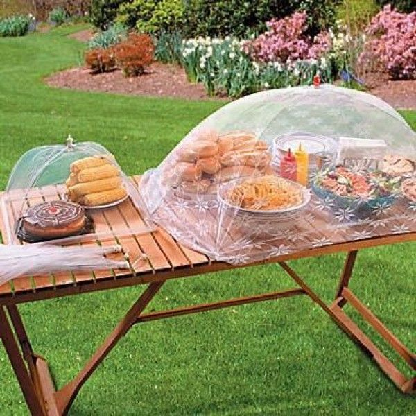 Take Along These Food Covers On A Picnic Or Use Them For Your