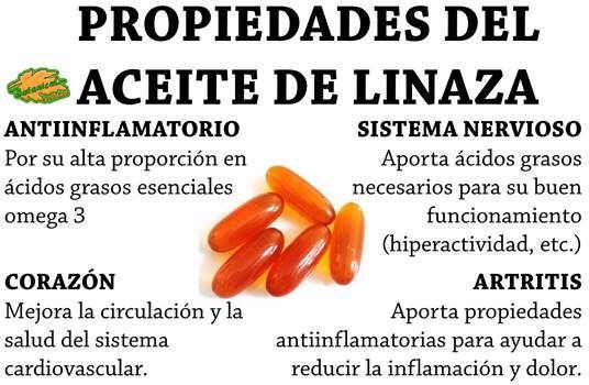 Propiedades y beneficios del aceite de linaza - Aceite de linaza ...