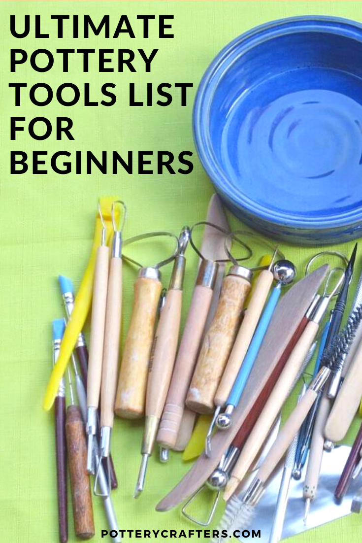 There are certain pottery tools you will need and others you will just want because they are cool or they create a great effect. The more tools you have, the more creative you can get with your clay. I have put together a list of my favorite Pottery Tools for you. Many of these tools I have used or am using at the present time. Any of these picks will help you to create beautiful pottery. #potterytools #ceramics #pottery #potterytips #potteryforbeginners