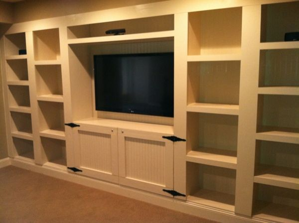 Tv With Built In Shelving Family Room Design Family Room Built Ins