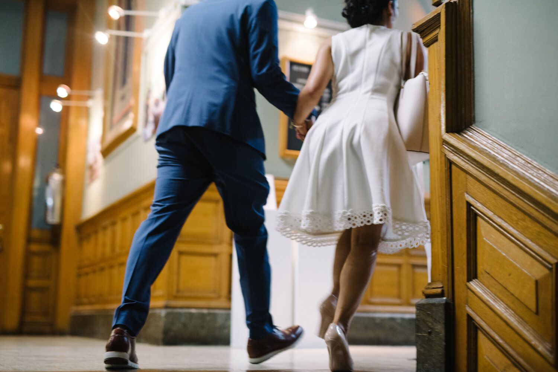 Simple Courthouse Wedding City Hall Wedding Inspiration